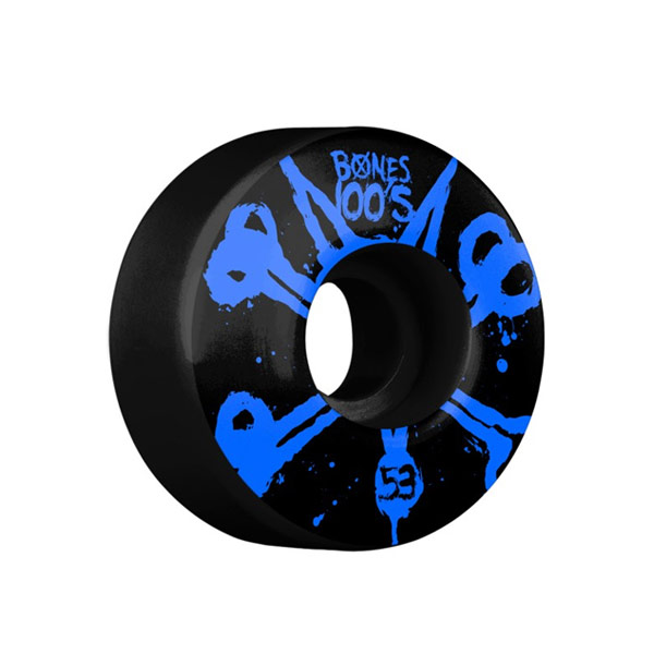 본즈 스케이트 휠/바퀴 53MM / BONES 100'S BLACK 53MM V4