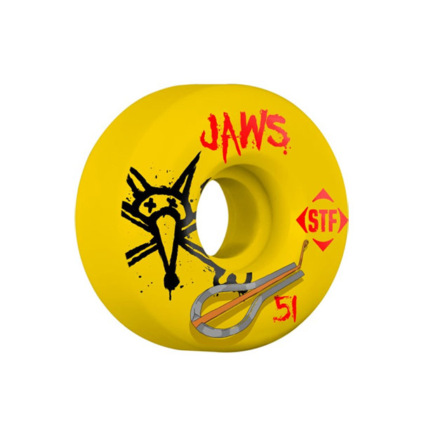 본즈 스케이트 휠/바퀴 51MM / BONES PRO HOMOKI HARP YELLOW STF 51MM V2