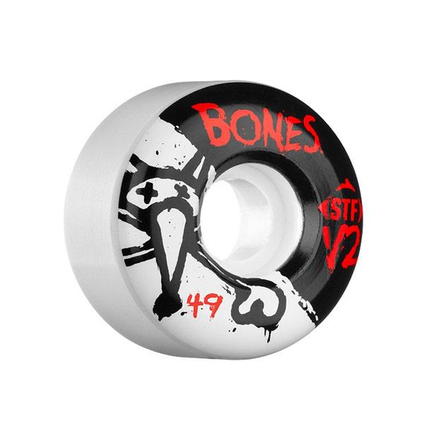 본즈 스케이트 휠/바퀴 49MM / BONES V2 SERIES STF 49MM
