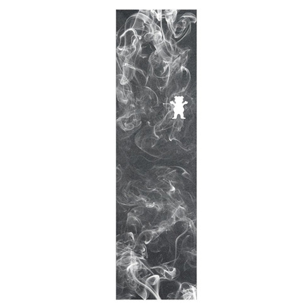 그리즐리 스케이트 그립테이프 / GRIZZLY SMOKE CUTOUT GRIP BLACK