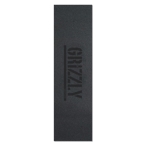 그리즐리 스케이트 그립테이프 / GRIZZLY STAMP PRINT GRIP BLACK