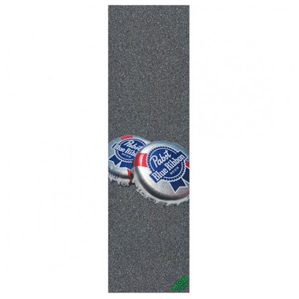 """엠오비/몹 스케이트 그립테이프 / MOB PBC PBR BOTTLE CAPS BIG GRIP TAPE 9"""""""