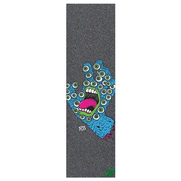 엠오비/몹 스케이트 그립테이프 / MOB SANTA CRUZ GRIP FOS HAND SHEET