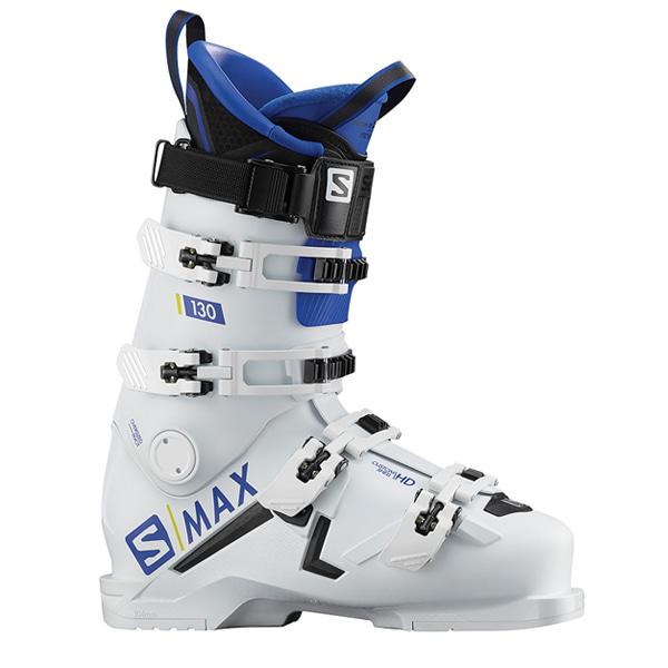 살로몬 스키 부츠 S 맥스 130 #0SA801W2 1819 SALOMON S/MAX 130 WH/RACEBLUE 98-104 L40547500