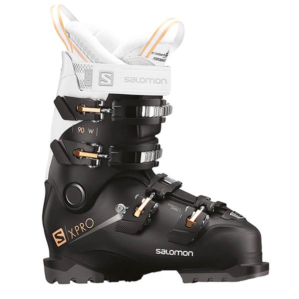 살로몬 여성 스키 부츠 엑스 프로 90 #0SA812BE 1819 SALOMON WMS X PRO 90 W BK/WH/CORAI 100-106 L40551700