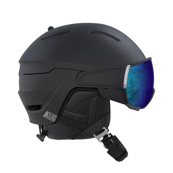 살로몬 스키 헬멧 드라이버 #FSA802BK / ALL BLACK/SOLAR 1819 SALOMON DRIVER ALL BLACK/SOLAR