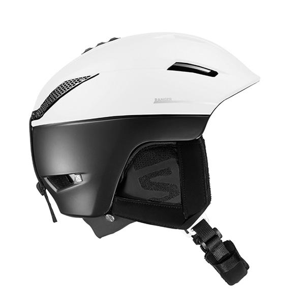 살로몬 스키 헬멧 레인저2 #FSA804WH / C.AIR WHITE/BLACK 1819 SALOMON RANGER2 C.AIR WHITE/BLACK