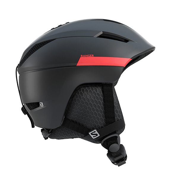 살로몬 스키 헬멧 레인저2 #FSA804YH / M BLACK/RED ACCENT 1819 SALOMON RANGER2 M BLACK/RED ACCENT