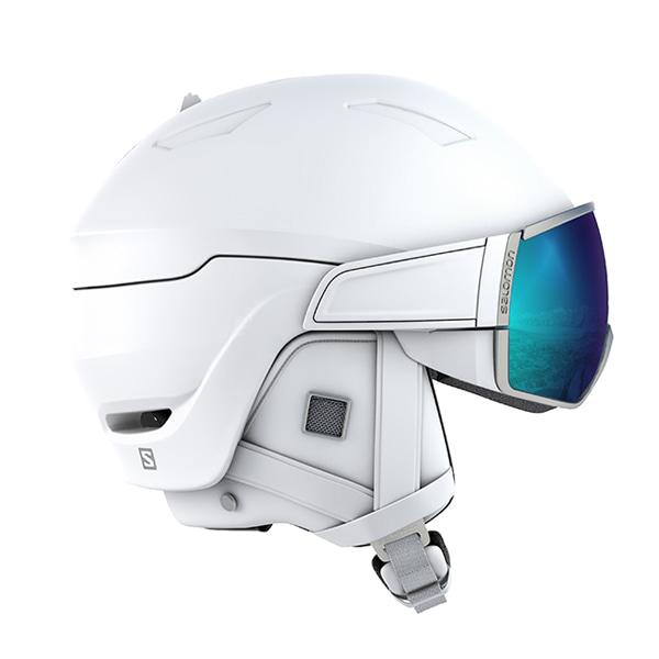 살로몬 여성 스키 헬멧 미라지 플러스 #FSA805WH / WHITE/SOLAR 1819 SALOMON WMS MIRAGE+ WHITE/SOLAR
