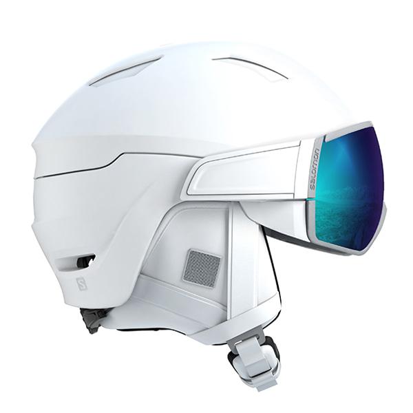 살로몬 여성 스키 헬멧 미라지 #FSA806WH / WHITE/SOLAR 1819 SALOMON WMS MIRAGE WHITE/SOLAR