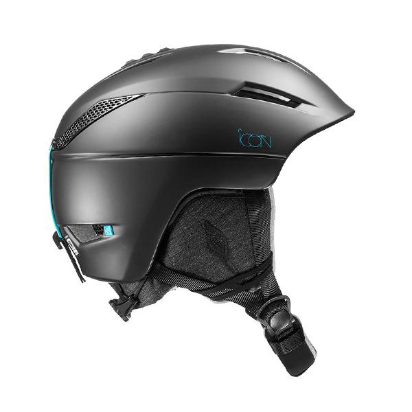 살로몬 여성 스키 헬멧 아이콘2 #FSA808MB / M BLACK 1819 SALOMON WMS ICON2 M BLACK