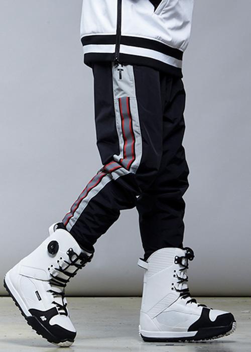 요비트 남여공용 보드복 엔비 베이직 팬츠 #9YB801BK / Z-BLACK 1819 YOBEAT ENVY BASIC PANTS