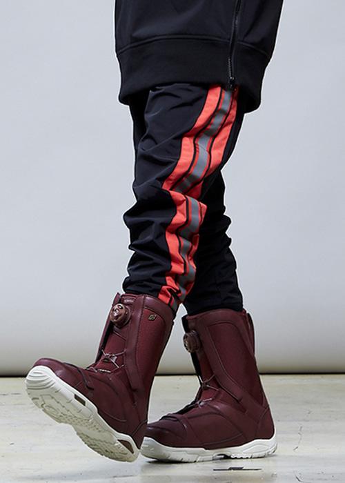 요비트 남여공용 보드복 엔비 베이직 팬츠 #9YB801RE / LIGHT RED 1819 YOBEAT ENVY BASIC PANTS