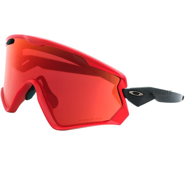 오클리 고글 윈드 자켓 2.0 #BO1874RE 1819 OAKLEY WIND JACKET 2.0 OO9418-0645 VIPER RED PRIZM SNOW TORCH IRIDIUM