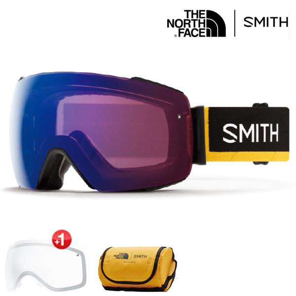 스미스 고글 아이오 맥 노스페이스콜라보 변색+추가렌즈 #BSM80100 1819 SMITH I/O MAG AUSTIN SMITH X THE NORTH FACE AC  PHOTO ROSE FLASH+CLEAR