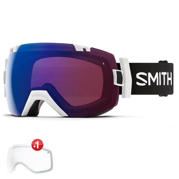 스미스 고글 아이오엑스 변색+추가렌즈 #BSM8038E 1819 SMITH I/OX STRIKE  PHOTO ROSE FLASH+CLEAR