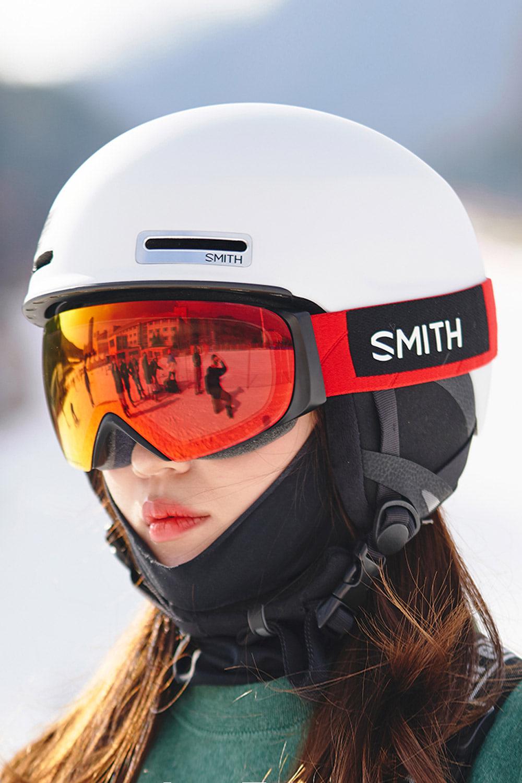 2021 스미스 헬멧 메이즈  2021 SMITH MAZE_MATTE WHITE_아시안핏/남녀공용_DFSM012WH