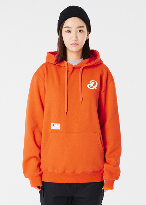 디미토 존 후드/후디 #RDT604OR / ORANGE DIMITO ZONE HOODIE