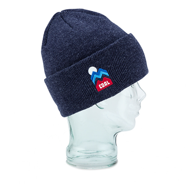 콜 더 도너 비니 #ICA711NV / HEATHER NAVY1718 COAL THE DONNER BEANIE