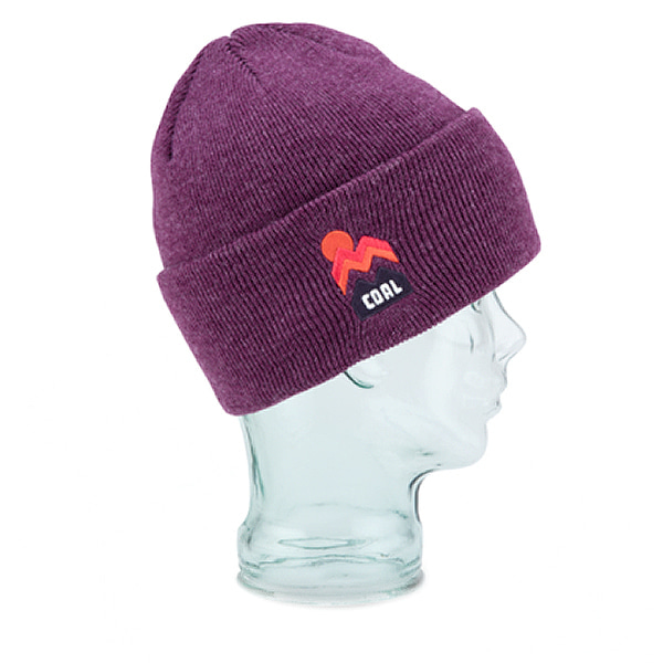 콜 더 도너 비니 #ICA711PL / HEATHER PLUM1718 COAL THE DONNER BEANIE