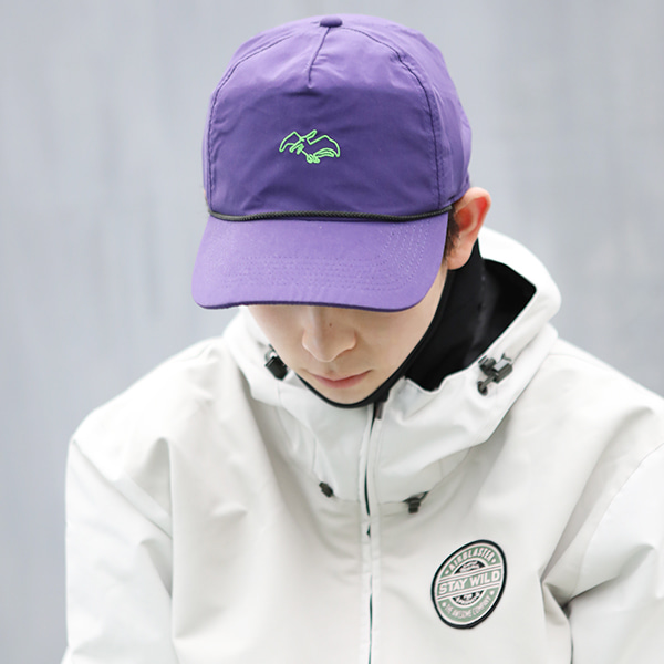 에어블라스터 스냅백/모자 #IA2702PU / PURPLE 1718 AIRBLASTER TERRY SOFT TOP