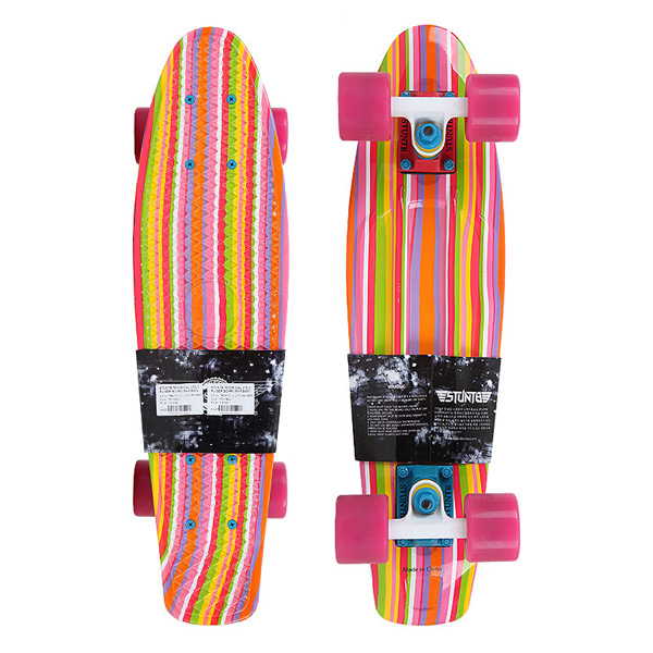 스턴트비 크루저보드 컴플릿 #ZC9402R2 / 6×22.5  STUNTB TECHNICAL LTD CRUISER BOARD RAINBOW
